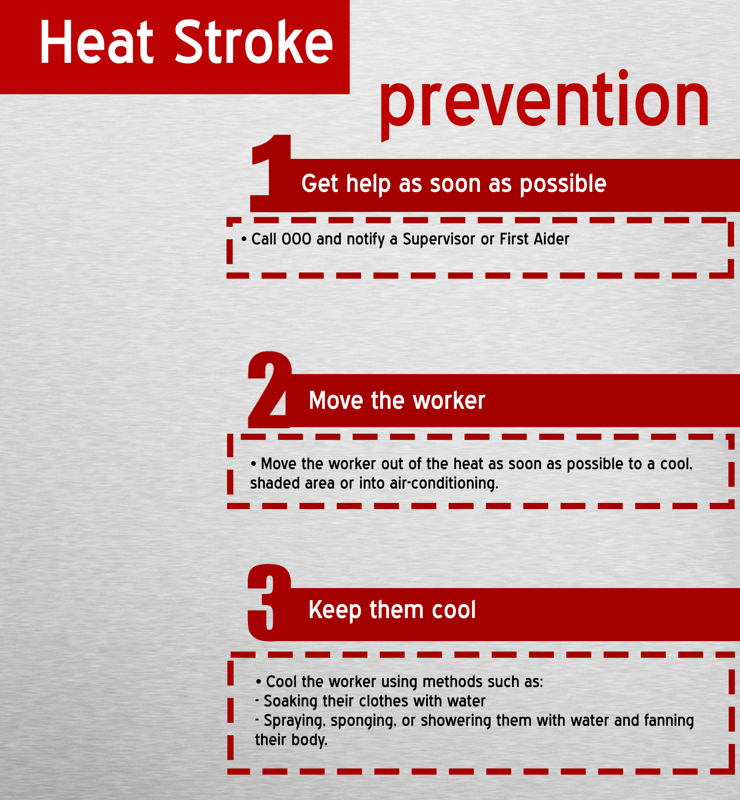 First Aid Measures For Heat Stroke The Y Guide